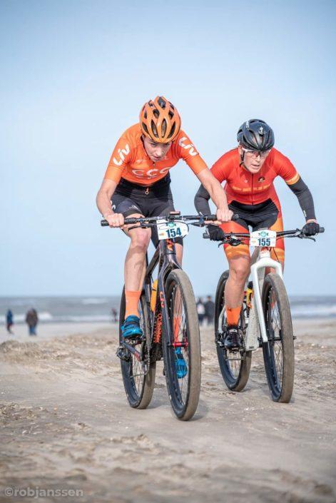Strandcare Katwijk met Willemiek Meinders.